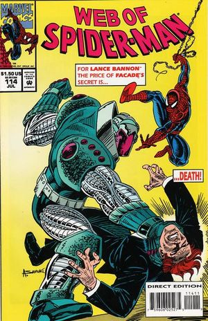 Web of Spider-Man #114